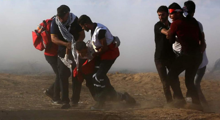 الصورة من المركز الفلسطيني للإعلام