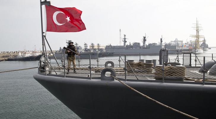 سفينة تركية