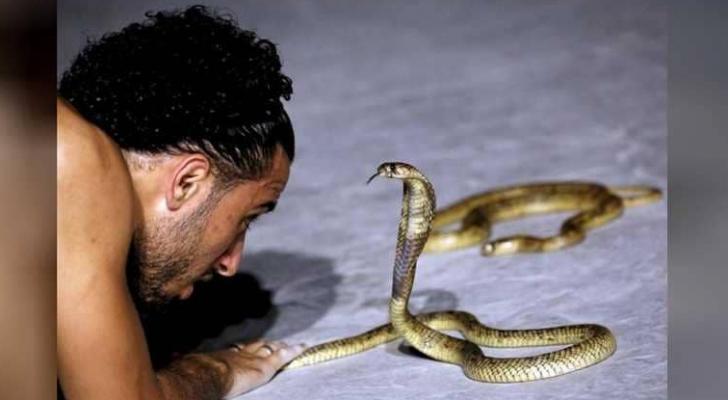 مروض للثعابين في مصر - ارشيفية