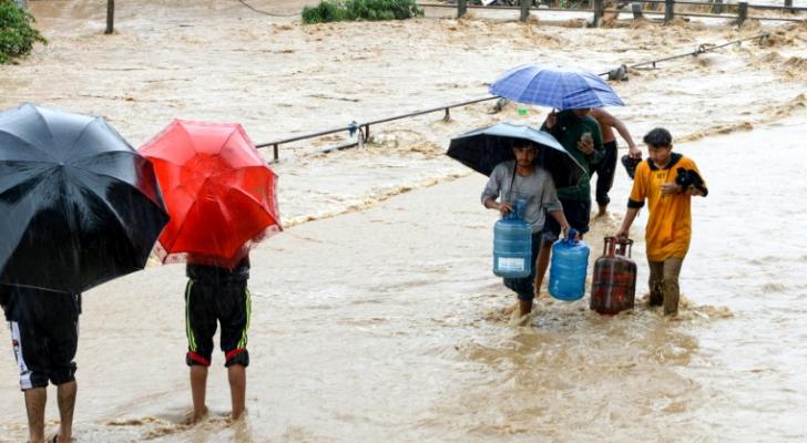 مصرع 50 شخصاً على الأقل جراء أمطار موسمية في النيبال
