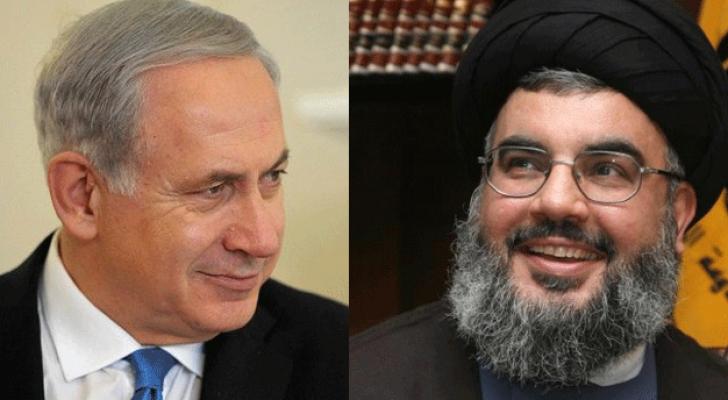 """نتنياهو يُهدد نصر الله بـ """"ضربة عسكرية ساحقة"""""""