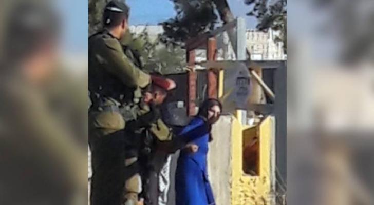 الصورة نشرتها مواقع اخبارية فلسطينة