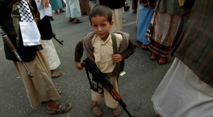 طفل يمني - ارشيفية