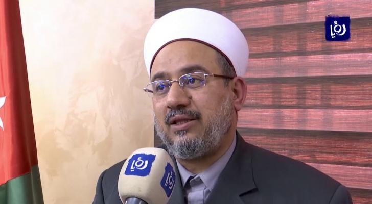 وزير الأوقاف والشؤون والمقدسات الإسلامية الدكتور عبدالناصر ابو البصل - ارشيفية