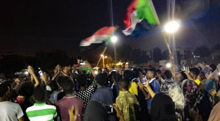 تظاهرات ليلية في السودان احتجاجا على مقتل مدني- ارشيفية