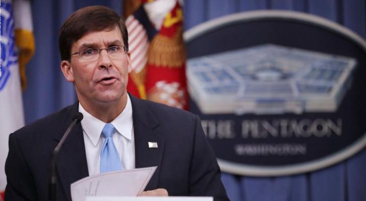 وزير الدفاع الامريكي الجديد مارك اسبر