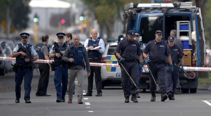عناصر من الشرطة النيوزيلندية