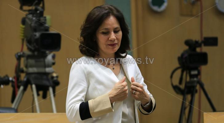 وزيرة الطاقة هالة زواتي - صورة أرشيفية
