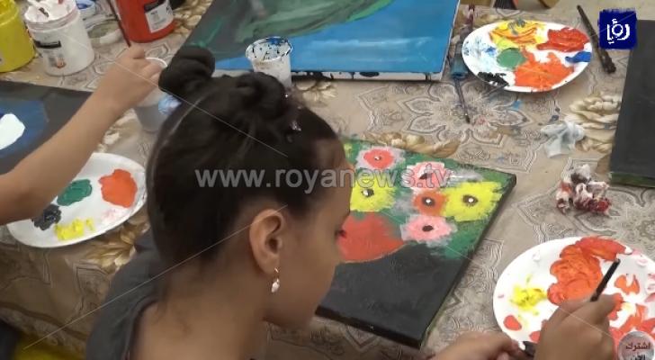 مديرية سياحة معان تنظم نشاطا لتنمية قدرات الأطفال في الرسم