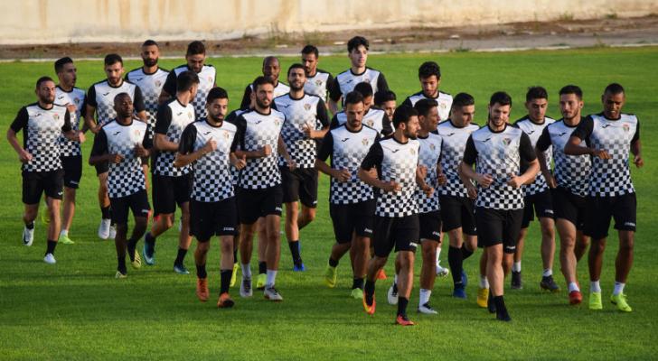 منتخب النشامى يصّعد تحضيراته- من موقع الاتحاد الاردني لكرة القدم