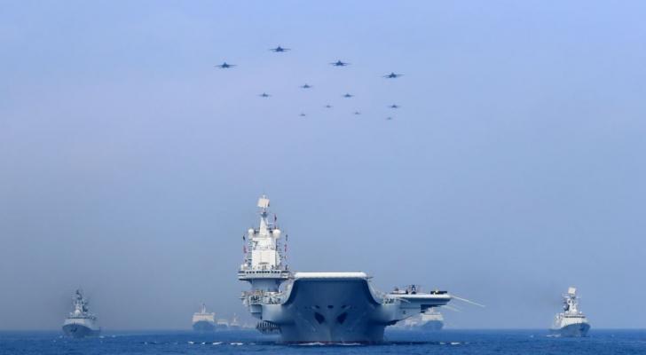 نشاط بكين في بحر الصين الجنوبي
