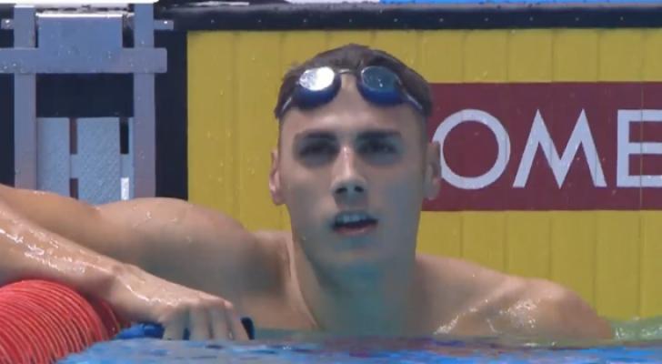 بقلة والور يكسران رقمين أردنيين في بطولة العالم للسباحة