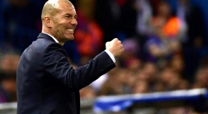 زين الدين زيدان المدير الفني لنادي ريال مدريد