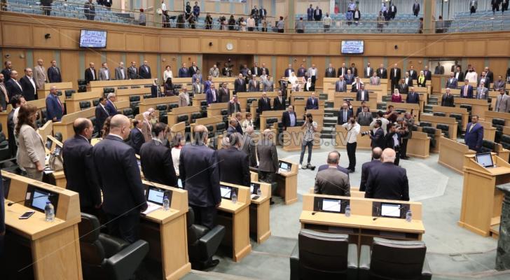 جانب من جلسة النواب