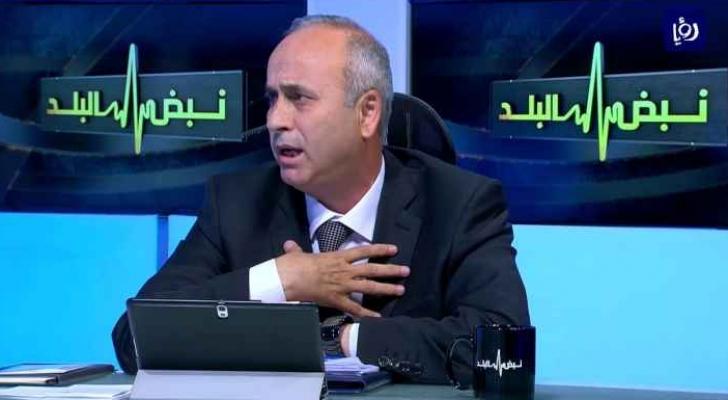 مدير عام ضريبة الدخل والمبيعات حسام أبو علي- ارشيفية