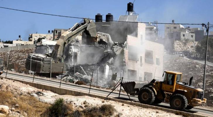 الاحتلال يرتكب مجزرة عمرانية بمنطقة صور باهر في القدس