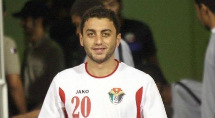 اللاعب محمود الحوراني