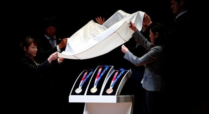 الكشف عن ميداليات أولمبياد طوكيو