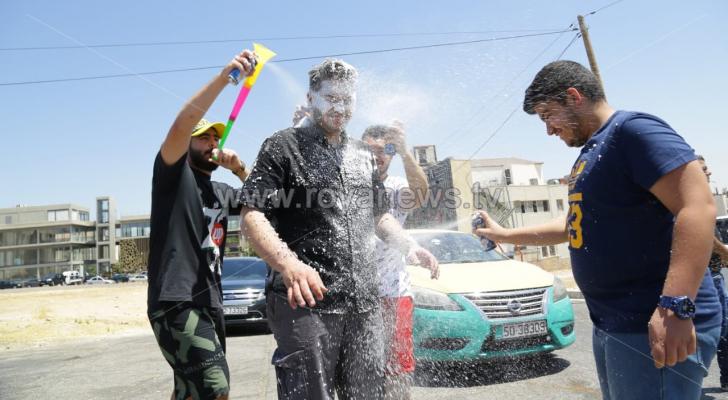 فرحة التوجيهي في عمان