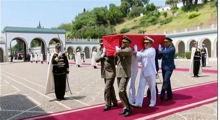 تشيع جثمان الراحل الرئيس التونسي الباجي قايد السبسي