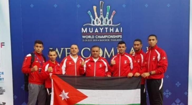 الأردن يتوج بميداليتين في بطولة العالم للمواي تاي