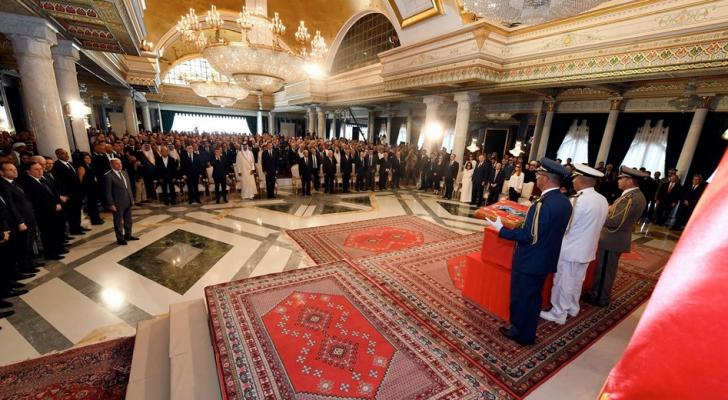 مراسم تشيع الرئيس التونسي الباجي قايد السبسي