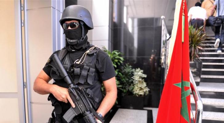 عناصر من الشرطة المغربية - ارشيفية