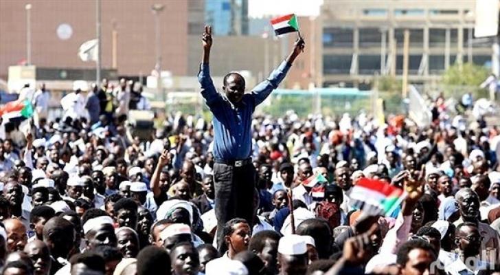 مظاهرات السودان - ارشيفية