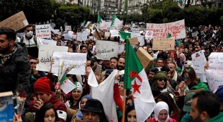 احتجاجات الجزائر - ارشيفية