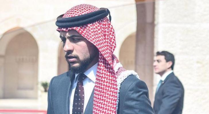 سمو الأمير الحسين بن عبدالله الثاني، ولي العهد - ارشيفية