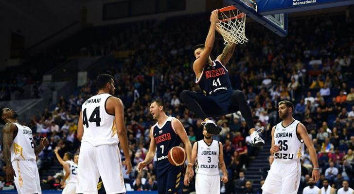 منتخب السلة يخسر أمام أيران