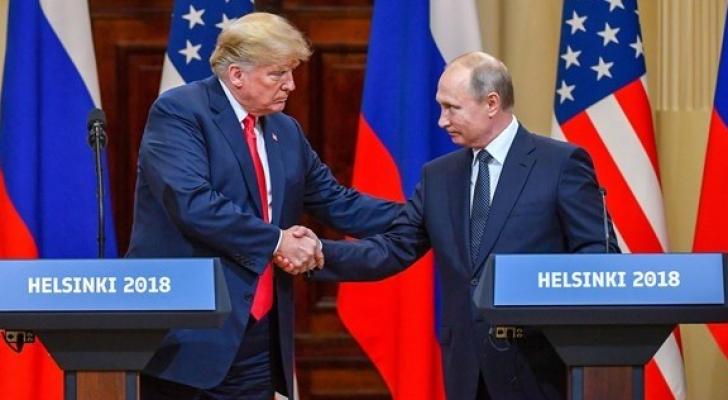 الرئيسان الأمريكي دونالد ترمب والروسي فلاديمير بوتين - ارشيفية