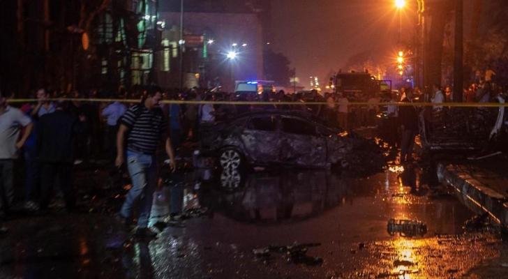 مصرع 17 شخصاً في حادث تصادم نتج عنه انفجار في القاهرة