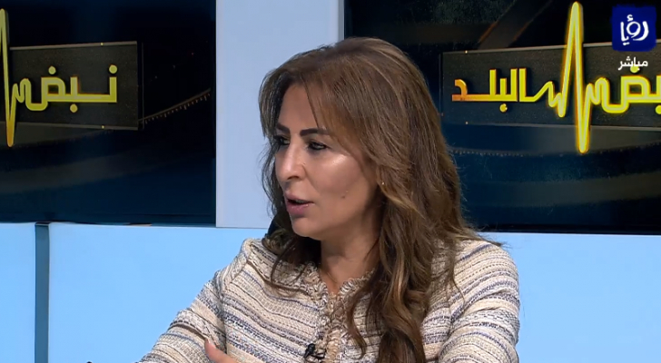 وزيرة الدولة لشؤون الاعلام والاتصال جمانة غنيمات