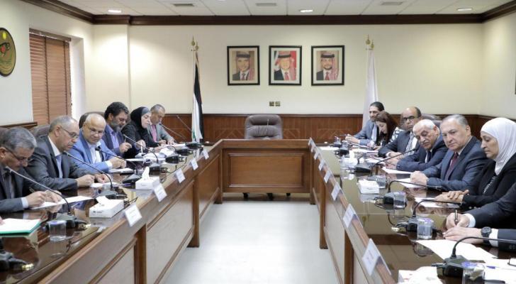 الاجتماع الثلاثي بهيئة النزاهة ومكافحة الفساد
