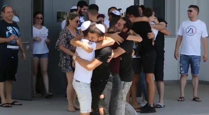 الشبان أفرجت عنهم الشرطة القبرصية