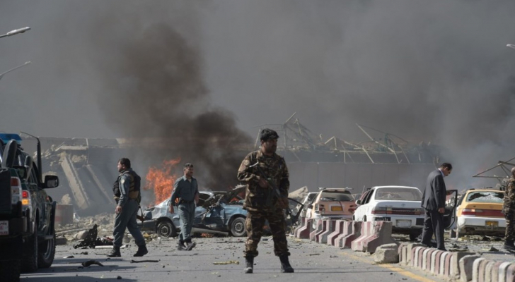 صورة من موقع التفجير