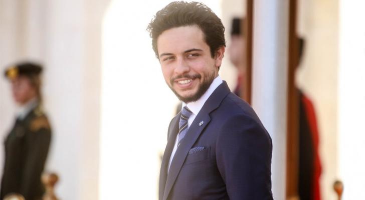 سمو الأمير الحسين بن عبدالله الثاني، ولي العهد