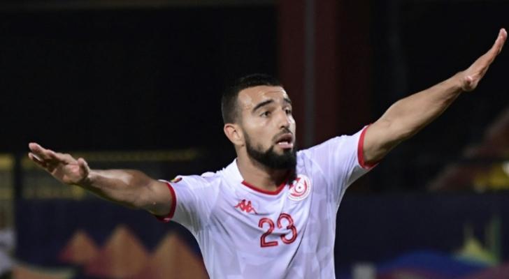 لاعب خط الوسط الدولي التونسي نعيم السليتي