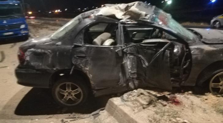 الصورة من الحادث - إدارة السير
