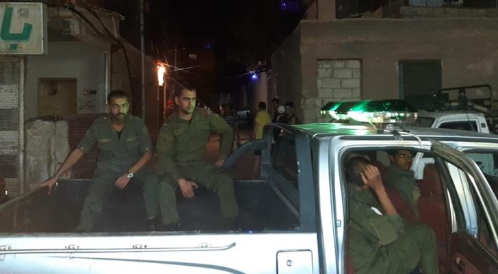 الصورة من صفحة الشرطة السورية على الفيسبوك