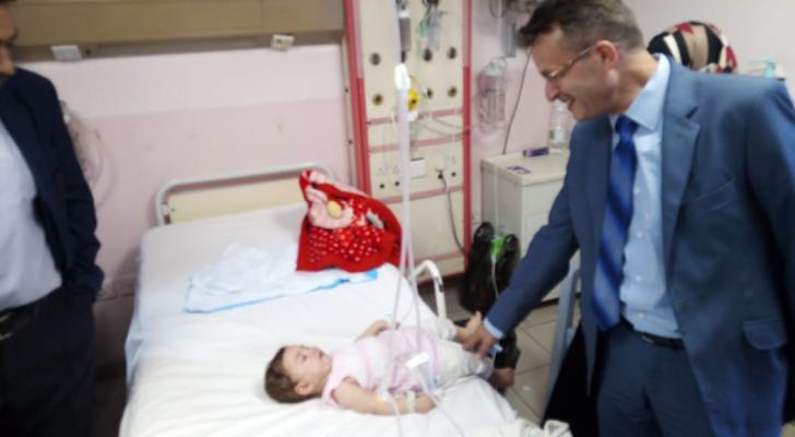 امين عام وزارة الصحة في مستشفى البشير