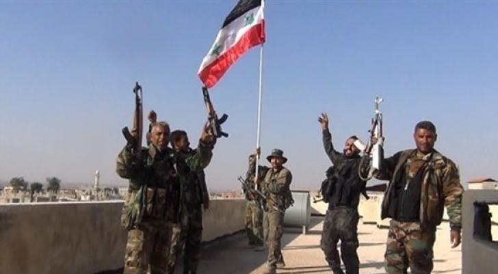 قوات الجيش السوري