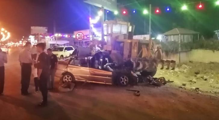 وفاتان و3 اصابات بحادث تدهور في عمان