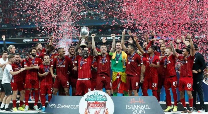 ليفربول يتوج بالسوبر الأوروبى بعد الفوز على تشيلسى بركلات الترجيح
