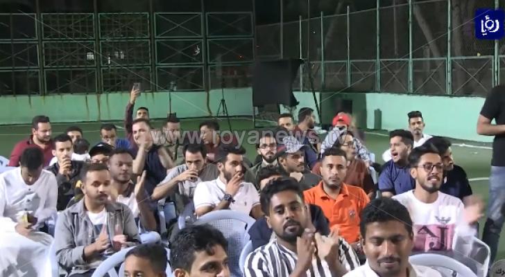 الطلبة اليمنيون يحتفلون بعيد الاضحى رغم الغربة عن بلادهم