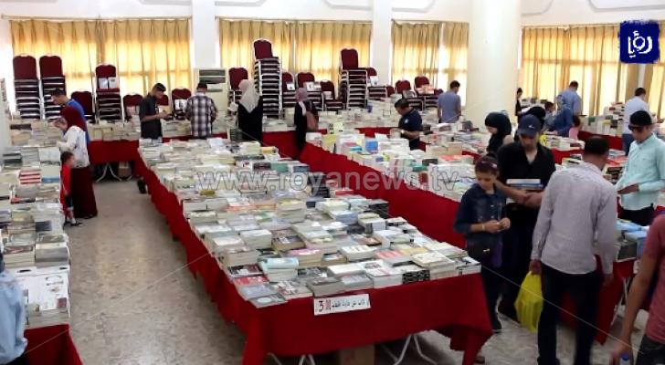 مبادرة وحي القلم الشبابية تنظم معرض الكتاب الشامل بإربد