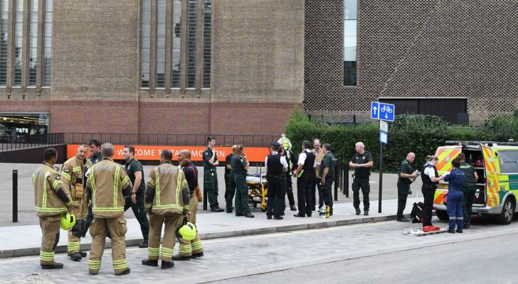 تعرض رجل للطعن خارج مقر وزارة الداخلية البريطانية
