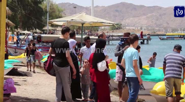 أكثر من 57 ألف زائر استقبلتهم مدينة العقبة خلال عطلة عيد الأضحى
