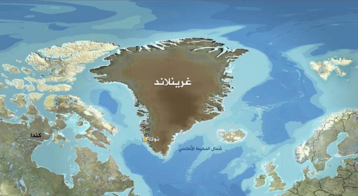 جزيرة غرينلاند التابعة للدنمارك